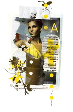 What drew me to the poster was the use of color and the use of collage to make an overall cohesive piece.