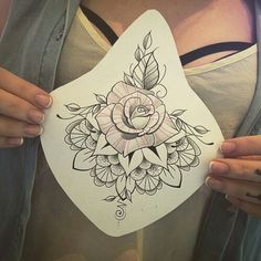 Found the sternum tattoo I want, finally