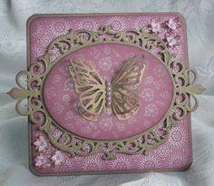 Vintage Butterfly 3D card - Scrapbook.com
