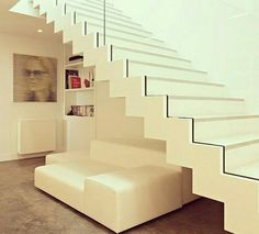 Modern Staircase Design Ideas - Modern stairs are available in numerous styles and designs that can be actual eye-catcher in the different area. We've compiled finest 10 modern versions of staircases that can give. Home Design Store, Escalier Design, Modern Stairs, Dream House Exterior, House Stairs, Stair Railing, Glass Railing, Staircase Design, Layout Design