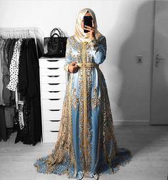 Moroccan Kaftan Dress, Caftan Dress, Hijab Dress, Muslimah Wedding Dress, Muslim Wedding Dresses, Niqab, Arabic Dress, Sparkly Dresses, Prom Dresses