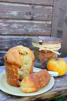 Hafif Mutfak: Cam Kavanozda Elmalı Kek