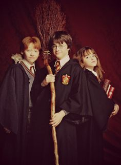 Harry Potter ...Golden Trio - early years.