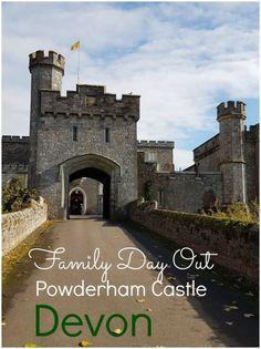 Family day out: Powderham Castle, Devon - mummytravels Days Out With Kids, Family Days Out, Travel With Kids, Family Travel, Travel Uk, Luxury Travel, Devon Uk, Visit Devon, Kids Attractions