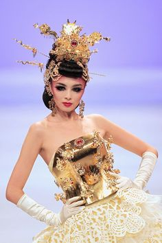 China Fashion Week Asian inspired fashion