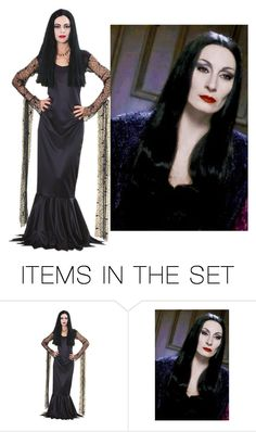 """Who rocks Monica Adams look better"" by cheyanne-lewis ❤ liked on Polyvore featuring art"