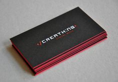 CreaThing business cards