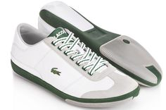 Tennis Shoes - Would make lovely Lawn Bowling Shoes. Bowling Outfit, Bowling Shoes, Lacoste Shoes, Lacoste Men, Fashion Shoes, Mens Fashion, Fall Fashion, Tennis Clothes, Tennis Outfits