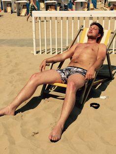 Relaxing in the sun @ Katwijk aan zee