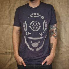 Diver Helmet t-shirt