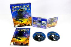 Imperium Galactica for Windows 95 by Digital Reality, Big Box, 1997, RPG, Action