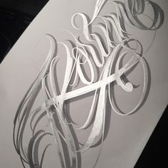 """ Korinne"" lettering for a client 👉🏽#losangeles #santamaria #california #southernfrance #customletters #custom #lettering #tattoologo #illustration #graffiti #art #geneva #switzerland #bern #sullenfamily"