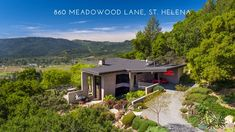 Spectacular listing in the heart of the Napa Valley with panoramic views over the heart of the wine country. Meadowood Resort is just below this 40 acre estate. 5 minutes to downtown St. Helena. Only 3 additional 40+acre estates in this very special enclave.  Price was just reduced by 4MILL+.