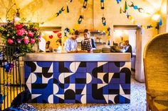 Vogue Living's top picks from Milan Design Week: day four: AirBnB presented 'Makers & Bakers' at Ristorante Marta in Spazio Rossana Orlandi for the 2016 edition of Salone del Mobile
