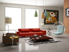 I'm in LOVE with some of the things on this website!!! Love the glass chair!