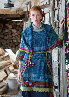 """Sirja"" cotton tunic – Muhu Inspiration – GUDRUN SJÖDÉN"