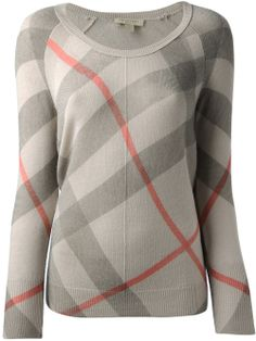 Burberry Brit Classic Check Sweater - Stefania Mode - Farfetch.com