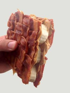 The Bacon Weave Elvis Sammich.
