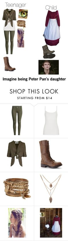 """""""Imagine being Peter Pan's daughter"""" by kjp456 ❤ liked on Polyvore featuring H&M, maurices, Madden Girl, ALDO and Once Upon a Time"""