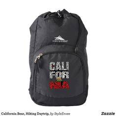 California Bear, Hiking Daytrip, High Sierra Backpack