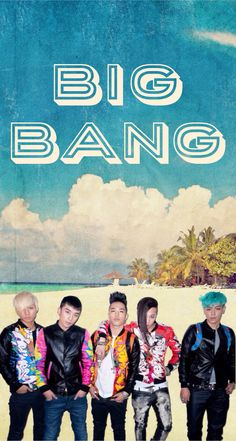 Big Bang group wallpaper