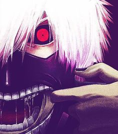 Keneki Ken|| Tokyo Ghoul ....I kinda want this as a poster on my wall...is that weird? O.o