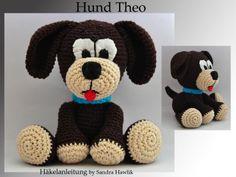Häkelanleitung, DIY - Hund Theo - Ebook, PDF