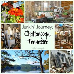 Want to go junkin' and pickin' in Chattanooga, Tennessee? Check out my favorite antiques, thrift, salvage, and junk shops before you go!