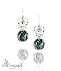 Galatea pearl earrings. Visit Renaissance Fine Jewelry in Vermont or a www.vermontjewel.com for the ultimate bridal  jewelry!