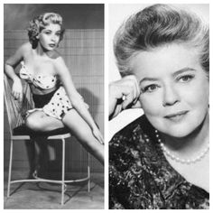 "Frances Bavier (1902-1989) born Frances Elizabeth Bavier in New York City. Quite a beauty when young, worked in vaudeville, stage, film & TV. Known best for role ""Aunt Bea"" on ""The Andy Griffith Show"""