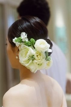 新郎新婦様からのメール アニヴェルセル表参道様へ 刹那 : 一会 ウエディングの花