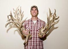 Highest scoring mule deer shed!!!!