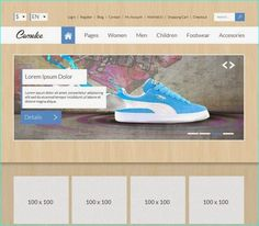 25 Free eCommerce PSD Templates