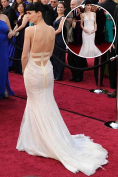 The Best Red Carpet Gowns From the Back 1ee3fcd05aec