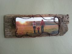 barnwood crafts ideas   Mod Podge photo on old barn wood   craft ideas finally know what I'm doing with the piece if barn wood I've carried around for years!!!!