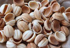 fursecuri nuci 5 Jacque Pepin, Mai, Garlic, Stuffed Mushrooms, Sweets, Vegetables, Healthy, Makeup, Food