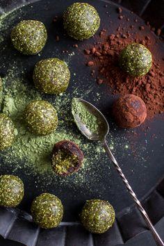 Pistachio Matcha Snack Balls