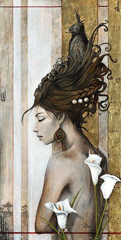 Artwork : Le gardien by Sophie Wilkins Magic Realism, Realism Art, Illustrations, Illustration Art, Inspiration Art, Canadian Art, Surreal Art, Oeuvre D'art, Female Art