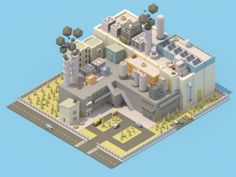 Isometric Factory (full view)