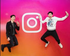 Dan and phil visit Instagram!