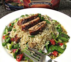 Middle Eastern Duck & Basmati Rice Salad - Maple Leaf Farms