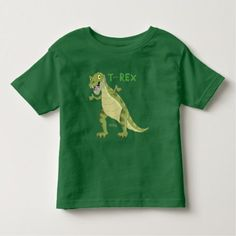 T-REX Dinosaur Toddler T-shirt - tap to personalize and get yours Toddler Outfits, Kids Outfits, Zebra Cartoon, St Patrick's Day Gifts, Boy Gifts, Kids Gifts, Cute Toddlers, Happy St Patricks Day, Christmas Cats