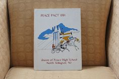 Queen of Peace H.S. Yearbook North Arlington NJ 1981