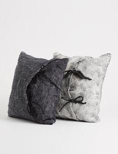 Otto Cushion - Linen/Merino Wool  - Abode Living
