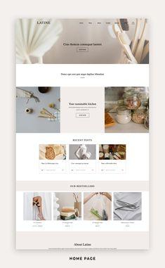 Website Design Inspiration, Website Design Layout, Web Layout, Website Designs, Web Design Minimalista, Ecommerce Template, Ecommerce Websites, Ecommerce Website Design, Paginas Webs