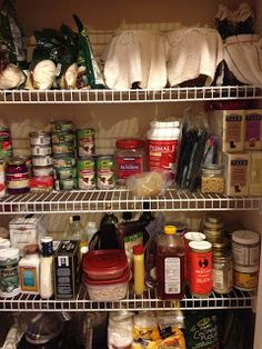 Lupus and the Paleo Diet: What's in my pantry