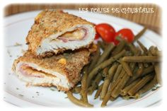 Cordons bleus 1 Actifry, Passion, Chicken, Cords, Meat, Bonjour, Recipes, Kitchens, Cubs