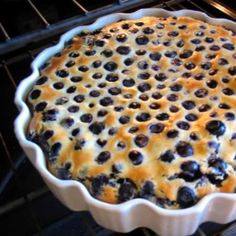 One Perfect Bite: Blueberry Flognarde