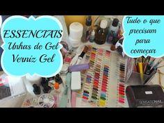 Essenciais Unhas de Gel e Verniz Gel - YouTube
