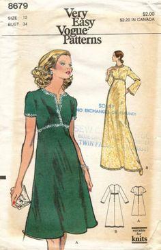 Vintage Edith Head Evening Dresses